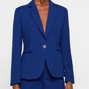 NWT Zara royal blue suit jacket/blazer. Size 6